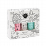 'Funfair' set of 3 (Mint Green/Sparkly White/Dusty Pink) - nailmatic® kids - water based nail polish